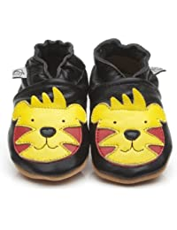 Soft Leather Baby Shoes Tiger [タイガーソフトレザーベビーシューズ] 18-24 months (15 cm)