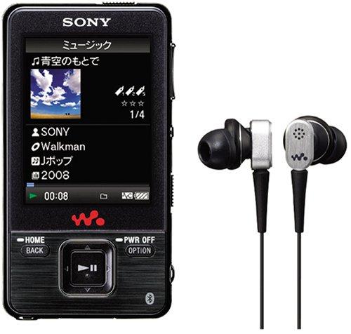SONY ウォークマン Aシリーズ ビデオ対応 8GB ブラック NW-A828 Bの詳細を見る