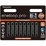 Panasonic AA Batteries 8 pack pre-charged Eneloop Pro Ni-MH, (BK-3HCCE/8BT)