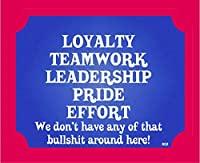 Boxer Gifts Loyalty Teamwork Wall Plaque by Boxer Gifts [並行輸入品]