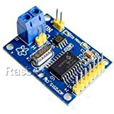 Rasbee オリジナル MCP2515 CAN バス モジュール TJA1050 レシーバーSPIモジュール Arduinoのための AVR 1個 [並行輸入品]