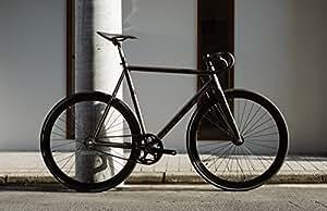 LEADER BIKES リーダーバイク KAGERO Complete Bike カゲロー コンプリートバイク 完成車 (BLACK, S (54cm))