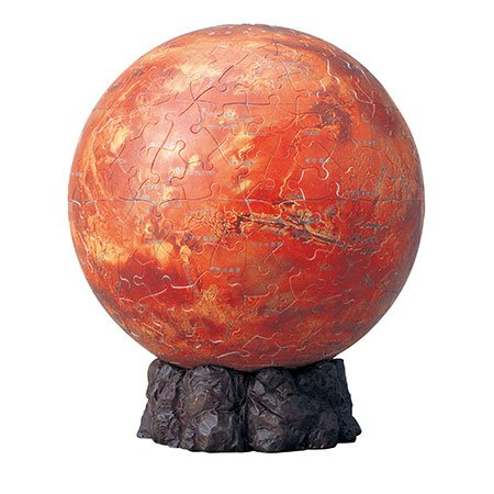 3D球体パズル 240ピース 火星儀 KAGAYA THE MARS 2024-120