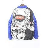 (シュプリーム)SUPREME 【16AW】【Astronaut Puffy Jacket】宇宙飛行士プリントダウンジャケット(XL/ブルー) 中古