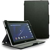 Hy+ Xperia Z2 Tablet(エクスペリア z2 タブレット) SO-05F SOT21 ケース カバー(2段階角度調節機能、オートスリープ機能付き) (ブラック)