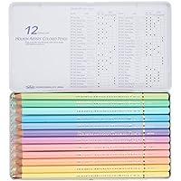 ホルベイン 色鉛筆12色パステルトーンセット