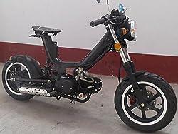 IceBear(アイスベアー) オリジナル110cc 二輪 バイク セミオートマ4速 黒 キングコブラ XF110B