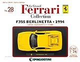 レ・グランディ・フェラーリ 28号 (F355 ベルリネッタ 1994) [分冊百科] (モデル付) (レ・グランディ・フェラーリ・コレクション)