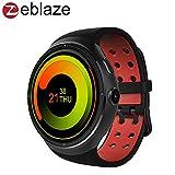 Zeblaze THOR スマートウォッチ Smart Watch ウォッチフォン Bluetooth 4.0 歩数計 心拍計 16GB ROM 遠隔カメラ 着信通知 お天気アプリ 音楽プレーヤー GPS Android/IOS/日本語対応