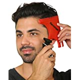RevoHair Haircut Tool - Multi-Curve Hairline Template/Stencil/Guide For Men - Barber Supplies - Lightweight - With Hair & Bea
