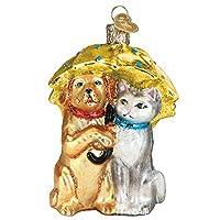 Old World Raining Cats and Dogsオーナメント