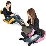 座椅子 ゲームチェア ゲーミングチェア ハイバック マルチリクライニング ゲーム座椅子 「ソリッド」 ( ヘッドギア フットギア ) 蒸れにくい メッシュ素材 ダークブラウ...