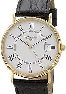 (ロンジン) LONGINES グランドクラシック メンズ L4.720.2.11.2 Longines GRANDE CLASSIQUE ホワイト×ゴールド [並行輸入品]