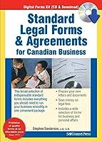 標準法的フォーム&契約のカナダビジネス
