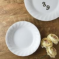 美濃焼 20.5cmドレープカレー&パスタ皿(アウトレット品)