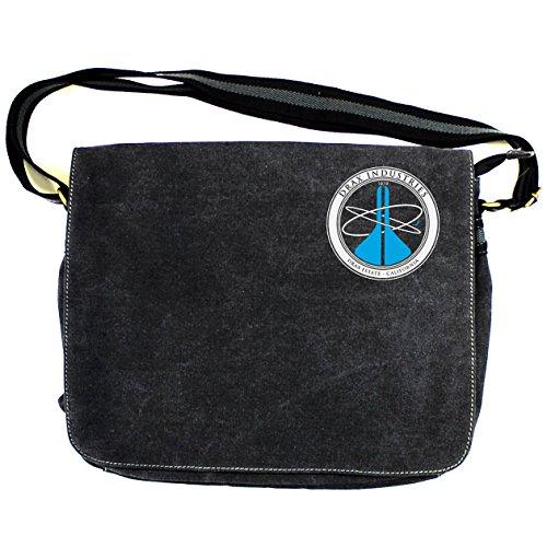 007ムーンレイカー: Drax IndustriesヴィンテージキャンバスDespatch Bag One Size Fits All ブラック