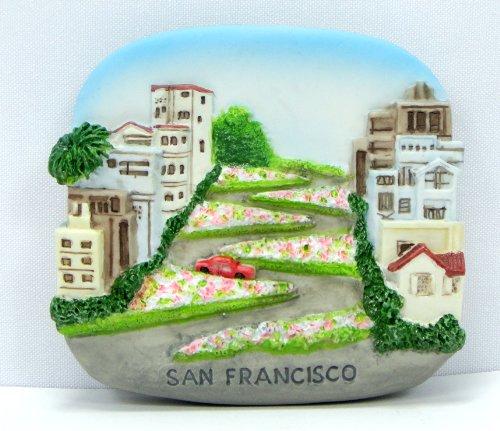 San Franciscoお土産冷蔵庫マグネット磁気手Scu...