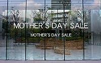 ウィンドゥカッティングシール「MOTHER'S DAY SALE(heGW5)/大」