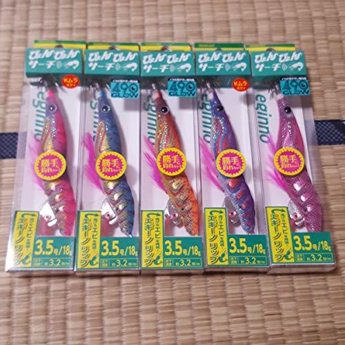 3.5号 ヤマシタ エギーノ ぴょんぴょんサーチ 6色セット 未使用品