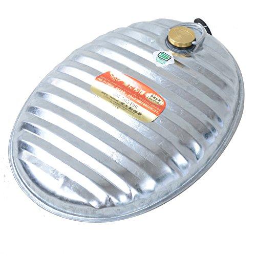 萬年 トタン湯たんぽ 1号 容量:2.4L MY-401
