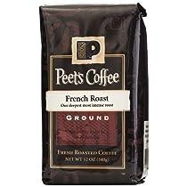 ピーツグラウンドコーヒー、フレンチロースト 320グラム 並行輸入品