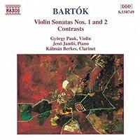 Bartok: Violin Sonatas 1 & 2, Contrasts (1994-04-12)