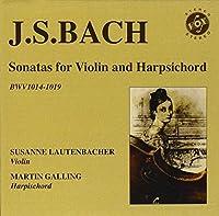J.S. Bach: Sonatas for Violin and Harpsichord by Susanne Lautenbacher (2009-10-13)