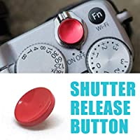 FENGYI KEJI 1pc 11mm Camera Red Shutter Release Button Concave For Fuji X20 XPRO2 XT10 XT20