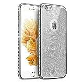 51a953771f 位, iPhone 6 plus ケース iPhone 6S plus ケース、[TIPFLY] めっき ダイヤモンド ピカピカ 粉 バンパー カバー  手触り良いソフトTPUケース 薄型 防投げ 軽く、携帯 ...