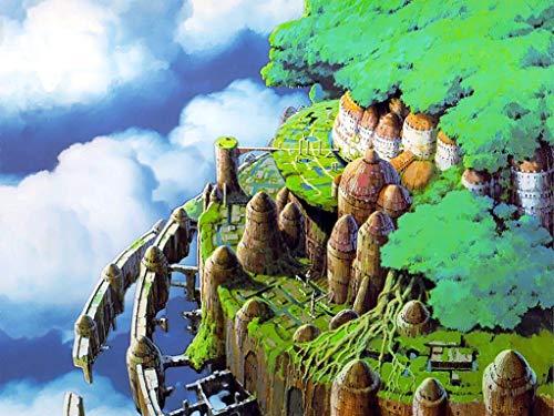 ラピュタが今甦る…!「ラピュタ」「時をかける少女」「もののけ姫」等で美術監督を務められた山本二三さんの愛蔵版画集が予約受付中!特典付きは9/2まで!