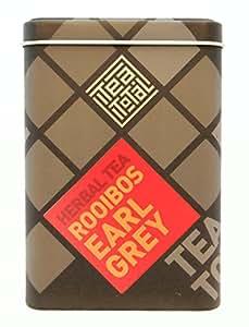 Tea total (ティートータル) / ルイボス アールグレイ 100g入り缶 ニュージーランド産 (ルイボスティー / ハーブティー / フレーバーティー / ノンカフェイン) 【並行輸入品】