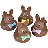 Vinyl Easter Chocolate Rubber Ducks - 12 pcs by Rubber Ducky [並行輸入品]