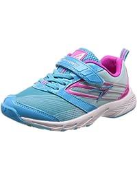 [シュンソク] 運動靴 通学履き 瞬足 スパイク 耐久性 軽量 20~24.5cm キッズ 女の子 LEJ 5360 サックス 21.5 cm 2E