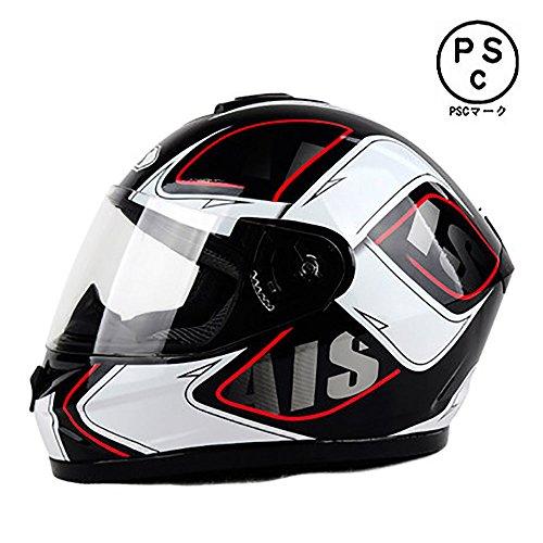 AIS 605 バイクヘルメット フルフェイス バイク用 安...