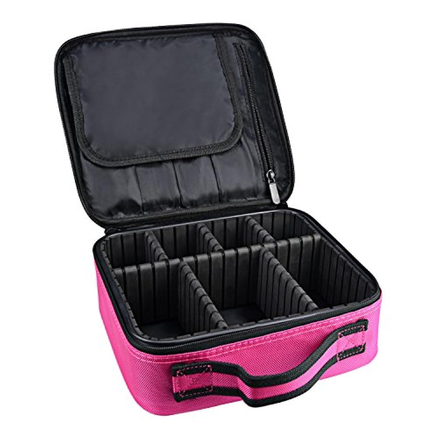 ドライ禁輸降伏ArcEnCiel メイクボックス プロ用 メイクブラシ 化粧道具 小物収納 コスメボックス