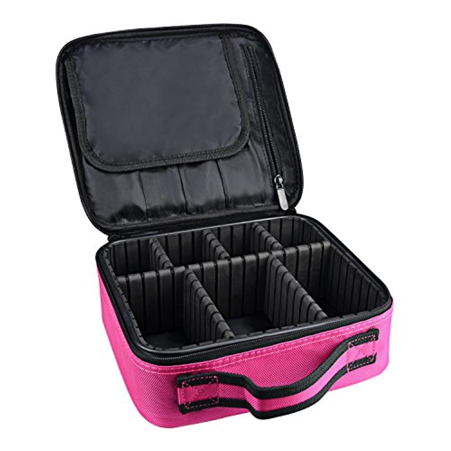 宿泊施設り岸ArcEnCiel メイクボックス プロ用 メイクブラシ 化粧道具 小物収納 コスメボックス