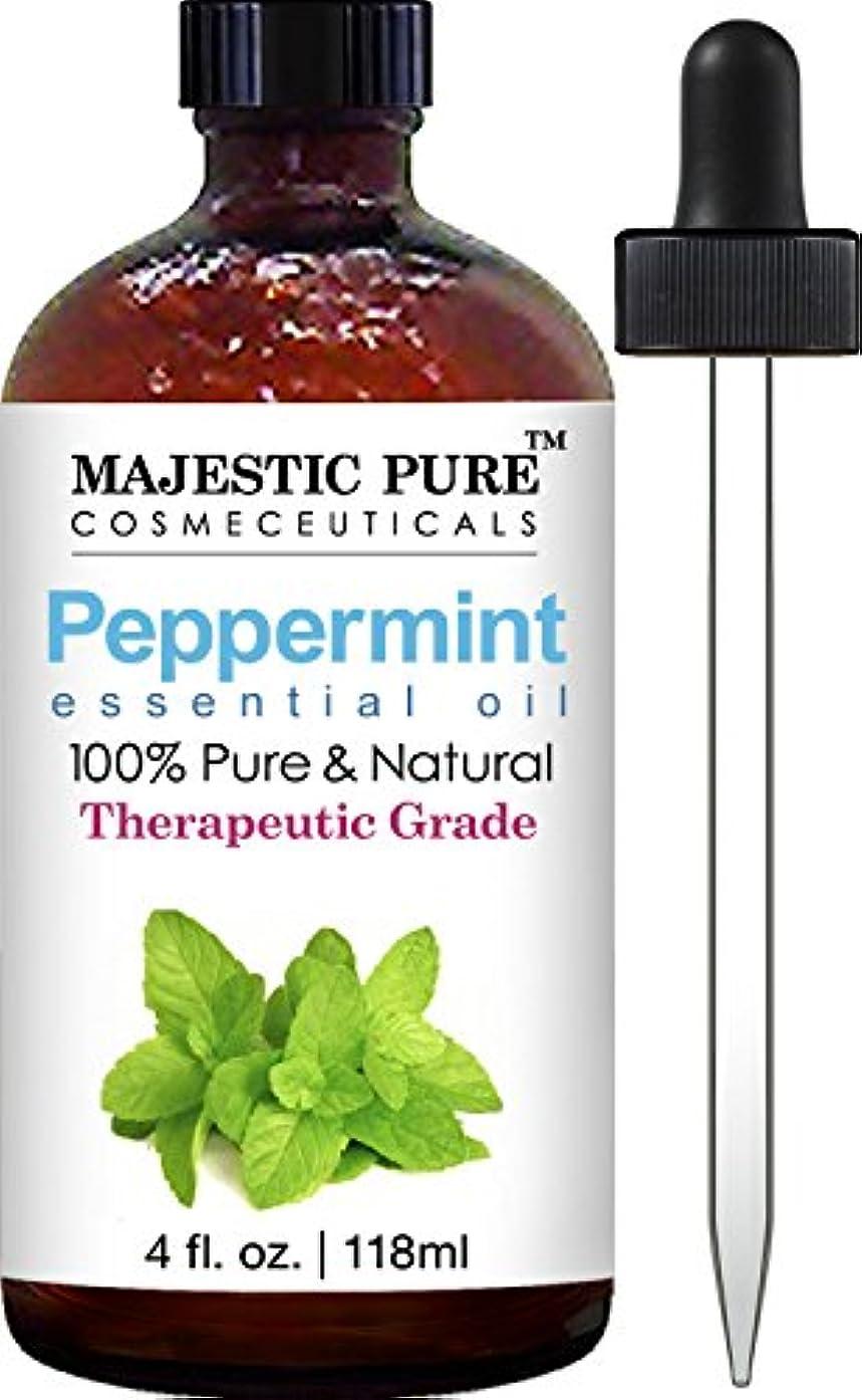 疲れた同封するファセットPeppermint Essential Oil 4 fl.oz. 118ml ペパーミントエッセンシャルオイル
