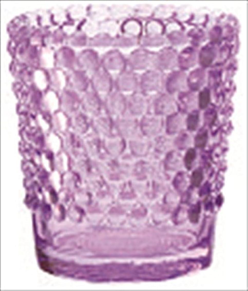 一見何十人も白内障カメヤマキャンドル( kameyama candle ) ホビネルグラス 「 アメジスト 」