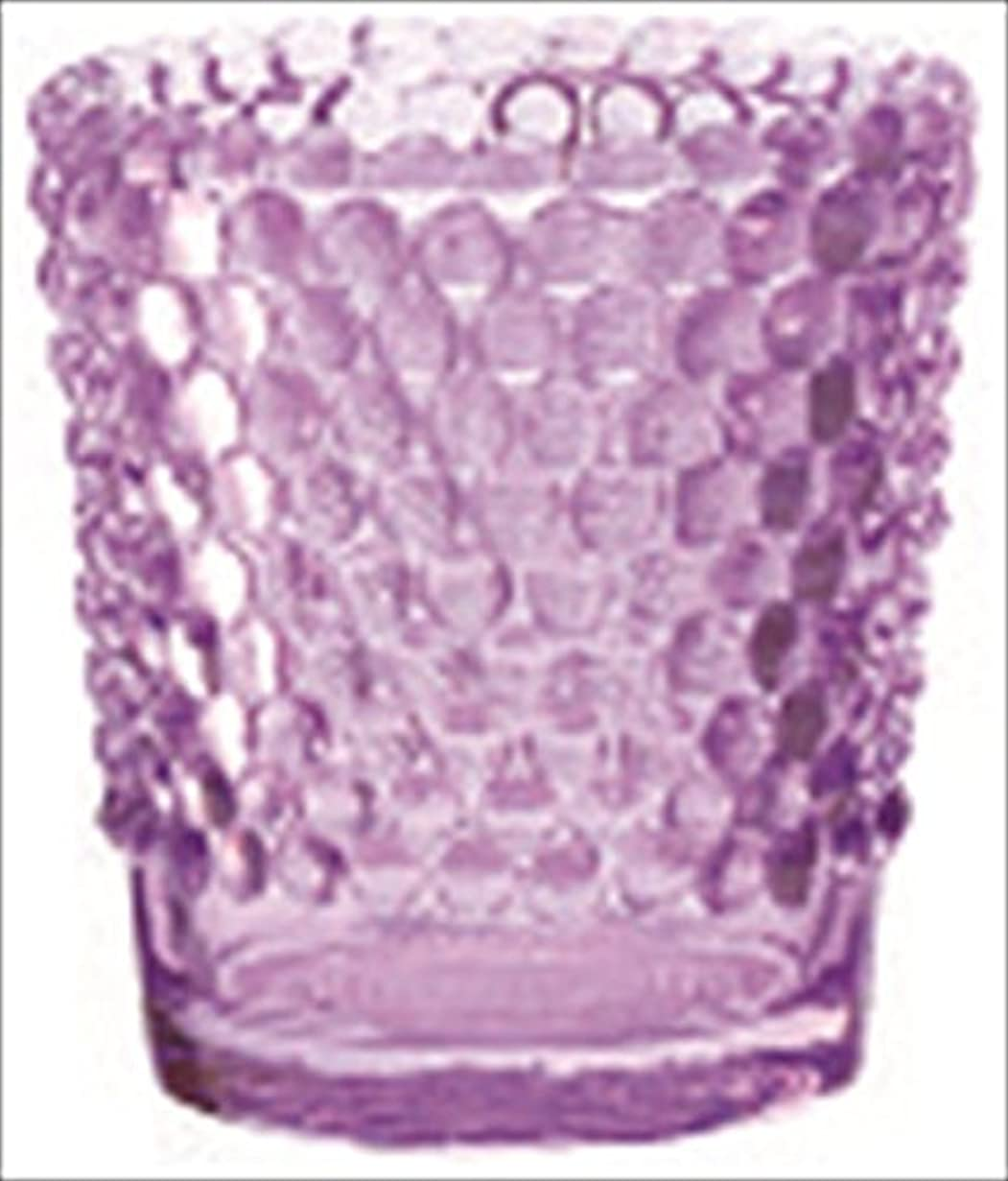 急行するビーチバターカメヤマキャンドル( kameyama candle ) ホビネルグラス 「 アメジスト 」