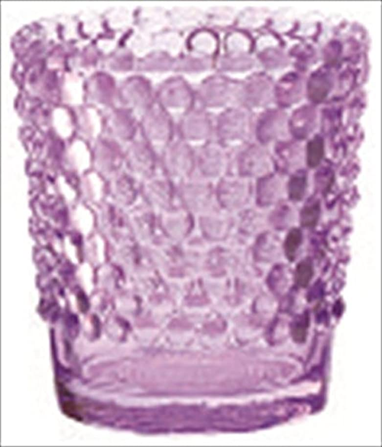 市場価値生息地カメヤマキャンドル( kameyama candle ) ホビネルグラス 「 アメジスト 」