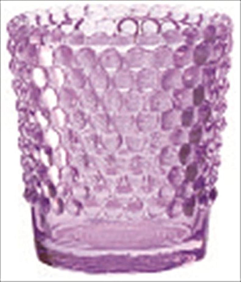 ハリウッド報酬のアンテナカメヤマキャンドル( kameyama candle ) ホビネルグラス 「 アメジスト 」