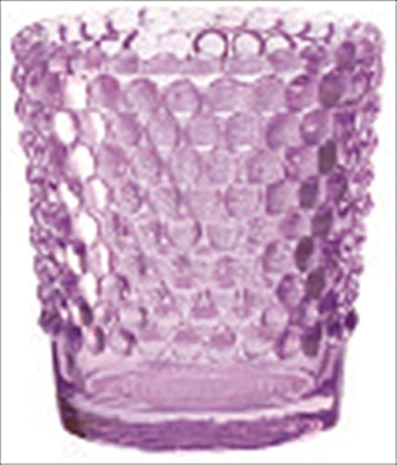 超える戦術松明カメヤマキャンドル( kameyama candle ) ホビネルグラス 「 アメジスト 」