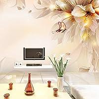 Mbwlkj カスタムの写真の壁紙のリビングルームベッドルームのテレビの背景の壁紙の壁画の 3Dステレオの大壁画のヨーロッパスタイルの壁紙-450Cmx300Cm