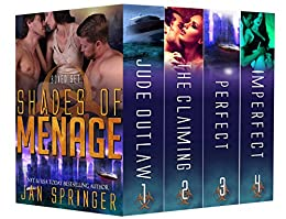 Shades of Menage: A Ménage Romance Box Set Series: Ultimate Four-Book Collection (Jan Springer Boxed Sets 2) by [Springer, Jan]