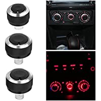 2006-2013 VIGORWORK Air Conditioning Heat Control Switch Button knobs for Peugeot 206 207 ,Auto Accessories for Citroen C2 2006-2011