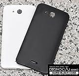 PLATA DIGNO C/DIGNO U 404KC ケース カバー ハードケース ディグノ 【 ブラック 黒 black 】