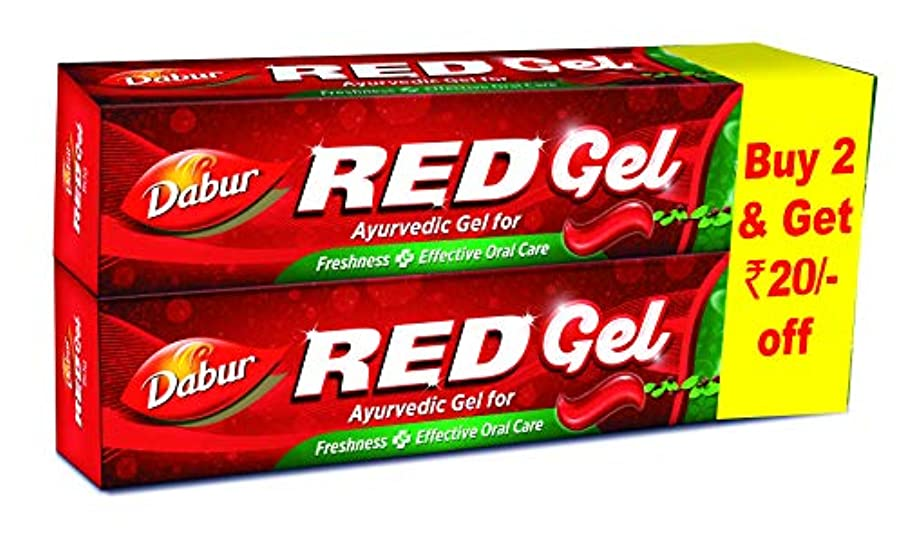 プロフィール落胆させる部族Dabur Red Gel - 150 g (Pack of 2)