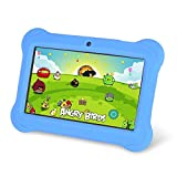 Zeepad Kids TABZ7 Android 4.4 Quad Core Five Point Multi Touch Tablet PC, 7, 4GB, Kids Edition, Blue by Zeepad