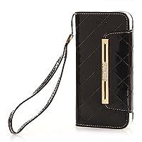 Note 8専用ケース、SIMPLE DO スマホケース カード収納 傷つけ防止 保護カバー ビジネススタイル Galaxy Note 8対応(ブラック)