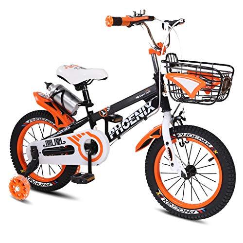 キッズバイク、2-8歳の子供用自転車、男の子ガールズペダル三...